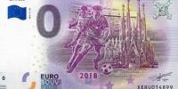 В Испании выпустили памятные банкноты 0 евро