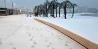 Часть Испании засыпало снегом