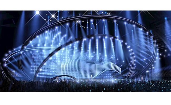 Португальцы представили макет сцены Евровидения-2018