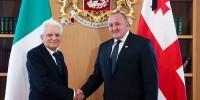 Что обсуждали президенты Италии и Грузии в Тбилиси