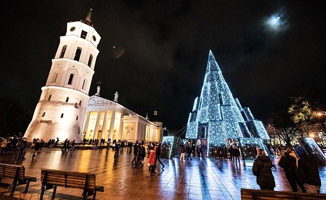 Самая красивая рождественская елка Европы