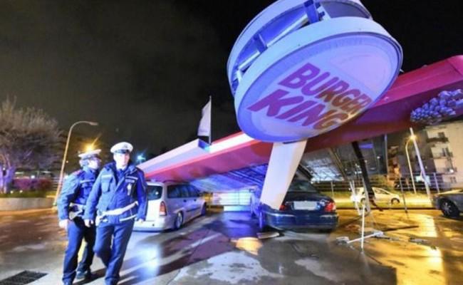 Италия: торнадо обрушилось на коммуны, есть раненые