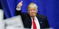 Трамп впервые догнал по популярности Клинтон