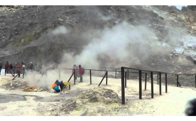 Италия: семья погибла в кратере вулкана Сольфатара